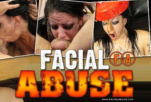 Brutal Face Fuck Leaves Eighteen Year Old Slut Molly Smash